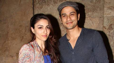 Soha Ali Khan took to Twitter to wish her actor boyfriend Kunal Kemmu.