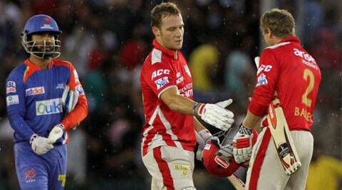 Kings XI Punjab won 11 of their 14 encounters to end with 22 points - four clear of second and third placed KKR and CSK respectively. (Source: BCCI/IPL)