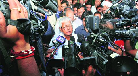 The man who has been jolted is RJD chief Lalu Prasad, who was expected to gain some political relevance in the aftermath of his conviction in a fodder scam case.