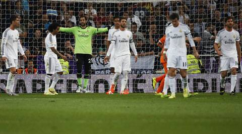 Madrid have 83 points but with three games remaining, starting with Wednesday's match at Real Valladolid that will see the standings set before the start of the last two rounds. (Reuters)