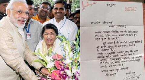 Sources close to Lata Mangeshkar say Modi was keen that she contest the Lok Sabha elections from Gujarat.