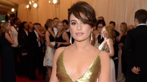 Lea Michele has revealed that she has drunk wine ever since being a toddler. (Source: AP)