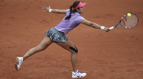 Li Na lost to Kristina Mladenovic of France 7-5, 3-6, 6-1 (Source: AP)