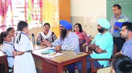 Fee hike: Team inspects Bal Bharti PublicSchool