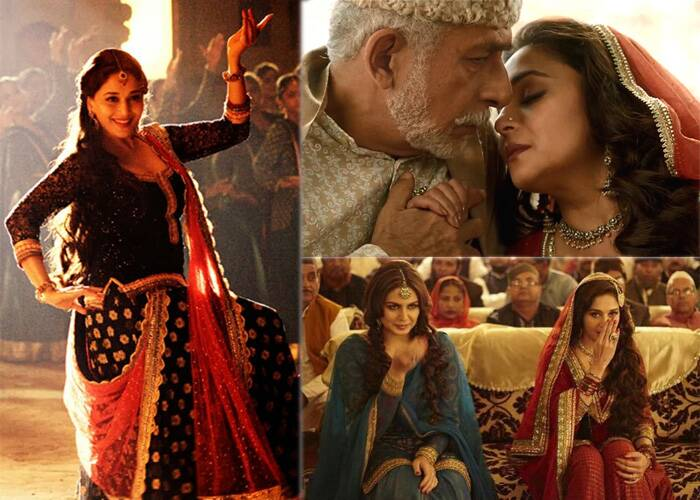 "Madhuri Dixit returned to the silver screen in 2014, first as the sly Begum Para in 'Dedh Ishqiya' and then in a power packed role in ""Gulaab Gang'. <br /><br /> Both films, however, bombed at Box Office. Madhuri though gained appreciation in Dedh Ishqiya, in which she played the role of a conniving Begum Para who lures Naseeruddin Shah with her charms to make things work as per her plans."
