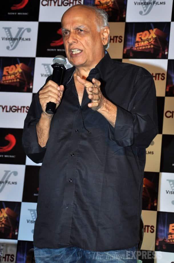Rajkummar Rao 'Lights the City' with Mahesh Bhatt, Hansal Mehta