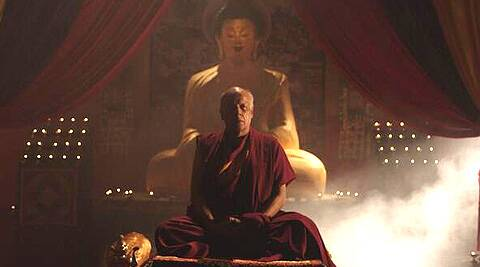 Mahesh Bhatt tweeted a picture of himself dressed as a Buddhist monk in one of the monasteries.