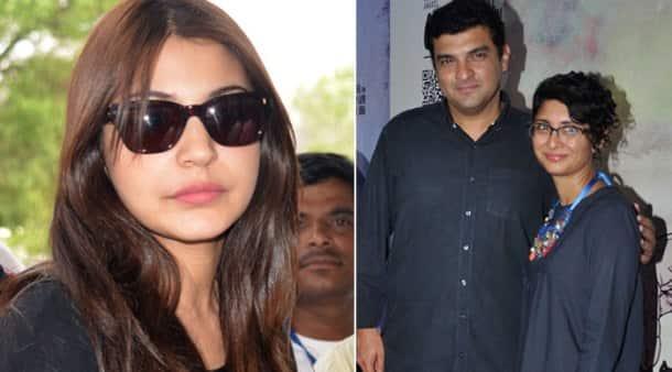 Anushka Sharma returns to Mumbai, Kiran Rao has a night out with Vidya Balan's husband
