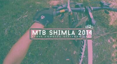 Express at the MTB Shimla 2014 Cross Country Off-Road race