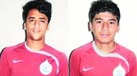 Krishna Pandit (left) and Anirudh Thapa (right).