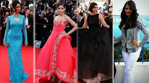 Actress Sonam Kapoor and Freida Pinto have stunned their admirers at Cannes red carpet.