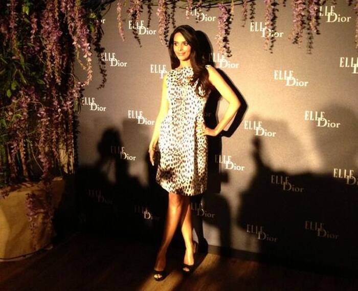 Mallika Sherawat goes chic in Dior