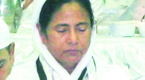 Mamata at a Muslim function. (File)