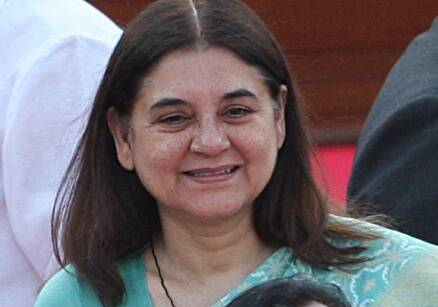 maneka gandhi, adoption, child development