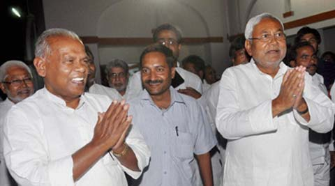 Manjhi has kept 11 departments, including Home, Vigilance and Energy with himself. Source: PTI