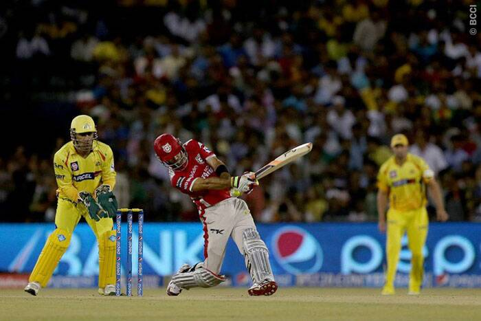 Glenn Maxwell was again the show-stealer with an innings of 90 runs off just 38 balls. He smashed six fours and eight sixes in his innings and remained the purple cap holder. (Photo: BCCI/IPL)