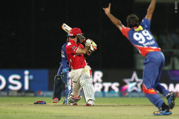 Orange cap holder was off colour on Monday and was bowled by Imran tahir for only 14 runs. (Photo: BCCI/IPL)