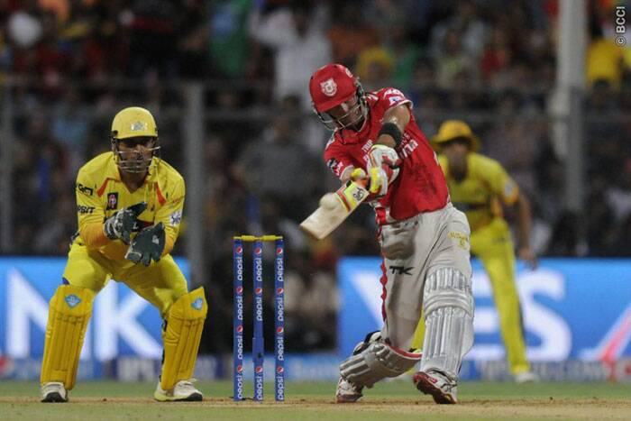 Kings XI Punjab's most destructive batsman in this IPL season, Glen Maxwell's run-scoring spree had taken a severe beating in recent matches. He started off well against Chennai Super Kings, but was soon dismissed by his nemesis Ravichandran Ashwin for 13. (Source: IPL/BCCI)