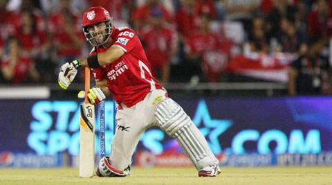 It was the third time that Maxwell got out in the nineties. Nevertheless, he still played a defining role in KXIP's win over CSK. The win also takes Punjab top of the table with 12 points (Photo: BCCI/IPL)