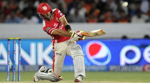 KXIP will depend on Glenn Maxwell for a big score against KKR (Source: IPL/BCCI)