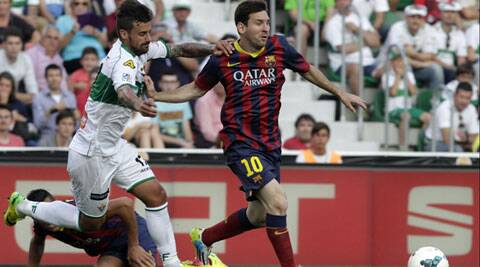 Barcelona will be pitting their La Liga title hopes on Lionel Messi. (Reuters)