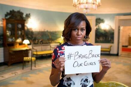 Nigeria president optimistic over finding abducted schoolgirls