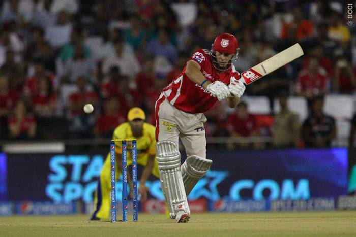 The crowd at the Barabati Stadium could not have asked for anything better as David Miller and Glenn Maxwell started the carnage. Miller played a second fiddle to Maxwell scoring 47 off 32 deliveries. (Photo: BCCI/IPL)