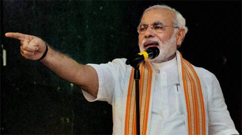 BJP Prime Ministerial candidate Narendra Modi has taken the policies of Life Insurance Corporation of India. (PTI)