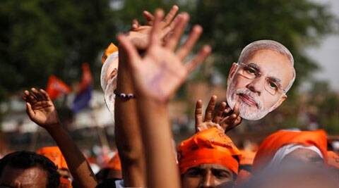The BJP's designated alliance negotiators will be on alert on May 16 if the NDA falls short of the 272 mark. (AP)