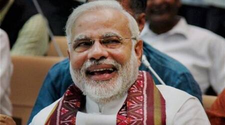 Narendra Modi's swearing-in ceremony will take place at 6 PM.