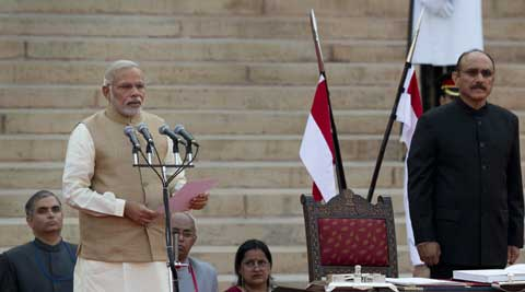 Prime Minister Narendra Modi's swearing-in ceremony took place on May 26. ( Source: PTI )