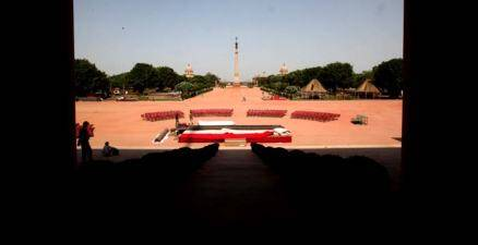 Preparations in full swing for Narendra Modi's swearing-in ceremony