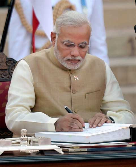 Image result for modi PM oath