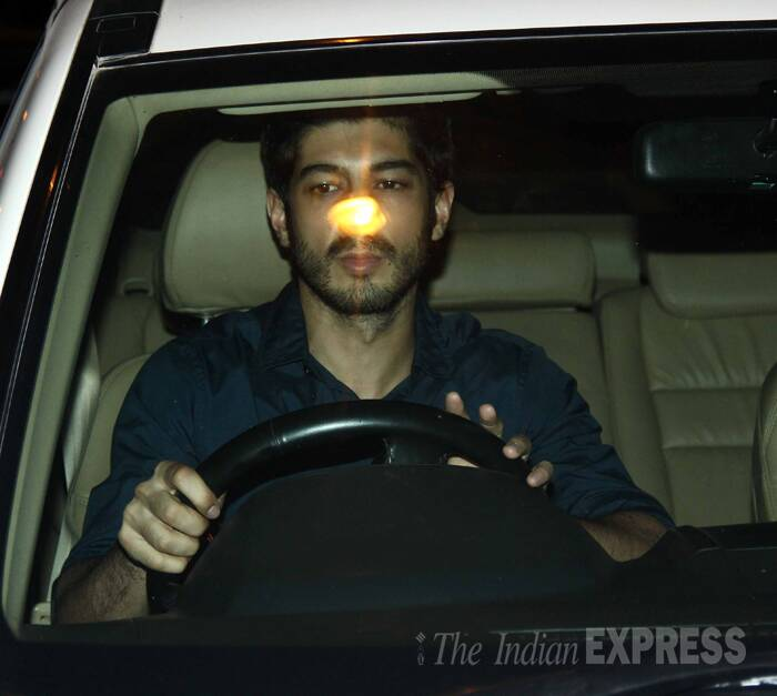 Mohit Marwah, who is Sonam Kapoor's cousin, turned chauffeur for the night. (Photo: Varinder Chawla)