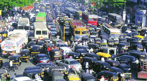 Haphazard and illegal parking often leads to huge traffic snarls on Mumbai's roads, which last for hours.