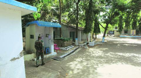 The Air Force station in Kalina where the incident took place. (Ganesh Shirsekar)