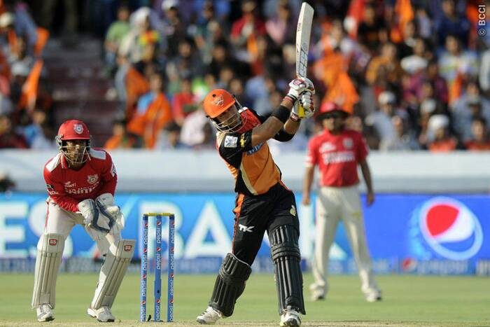 Sunrisers Hyderabad's wicketkeeper-batsman Naman Ojha, who was sent up the order in Wednesday's match against Kings XI Punjab, grabbed the opportunity with both hands as he pulverized the opposition's bowling attack with a whirlwind 36-ball 79.  (Photo: IPL/BCCI)