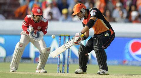 Naman Ojha hit a 36-ball 79 against Kings XI Punjab (Photo: BCCI/IPL)