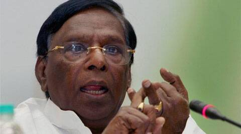 Union minister V. Narayanasamy. ( Source: PTI )