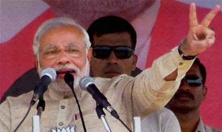 Narendra Modi takes a dig at Mamata Banerjee's 'paper tiger' comment