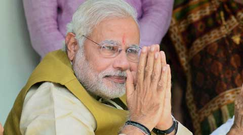 In his victory-speech, Modi said the government does not belong to any particular party but to all the people of the country. (PTI Photo)