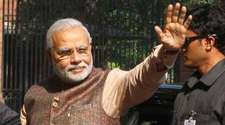 Party had attacked Modi over his 10-point governance agenda and termed it Ten Commandments.