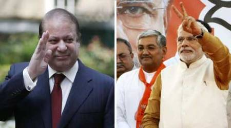 Reactions in Congress varied from caution to commendation over Nawaz Sharif's acceptance to attend Narendra Modi's oath-taking ceremony.