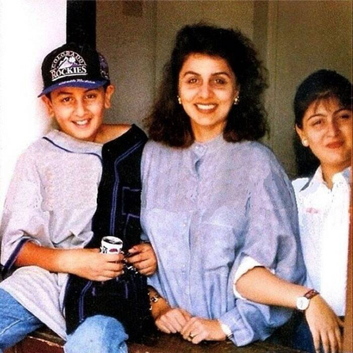 "Veteran actress Neetu Singh (Kapoor) shared an adorable picture on Instagram of hers with her two munchkins Ranbir and Riddhima Kapoor when they were teenagers. The picture has chubby Ranbir Kapoor with his sister Riddhima. ""Best years with my cutenessess !!!"" captioned Neetu."