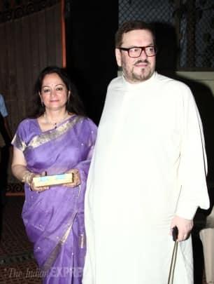 Newlyweds Rani Mukerji, Aditya Chopra host party for family, friends