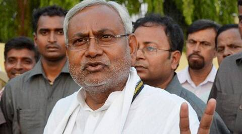 Former Railway Minister and JD(U) leader Nitish Kumar. (Source: PTI)