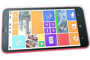 The Nokia Lumia 1320 comes with a big display, high-quality audio and long battery life