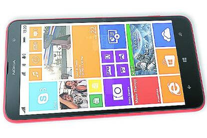 The Nokia Lumia 1320 comes with a big display, high-quality audio and long battery life.
