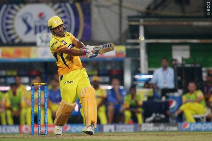 A late blitz from MS Dhoni and Ravindra Jadeja saw Chennai reach 154/4 from their 20 overs. (Photo: BCCI/IPL)