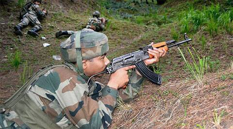 Pakistani troops had also violated the ceasefire on April 25 by firing with small arms and mortars on Indian posts in Doda battalion areas along the LoC in Poonch district.